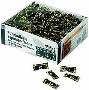 HELLMA - grains de café enrobés de chocolat, emballage individuel, contenu: 400 pièces (40070201)