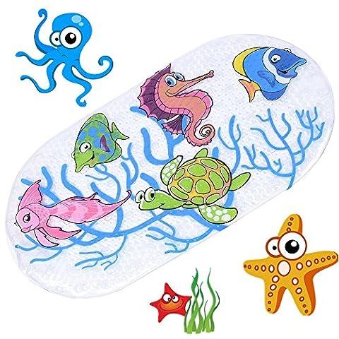Anlass Kids Cartoon Non Slip Mats Mildew Resistant Non Slip