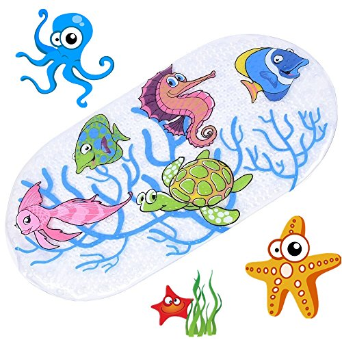 anlass-kids-cartoon-non-slip-mats-mildew-resistant-non-slip-mats-for-children-sea-turtle