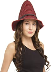 FabSeasons Red Fancy Hat for Women