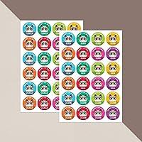 Grumpy, Sulky Cat Rewards - Stickers x 48 // Teacher Stickers