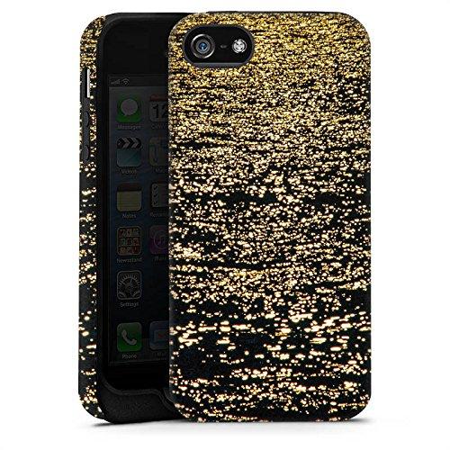 Apple iPhone X Silikon Hülle Case Schutzhülle Meer Ozean Wasser Tough Case matt