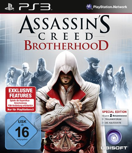 Preisvergleich Produktbild Assassin's Creed Brotherhood - D1 Version (uncut)