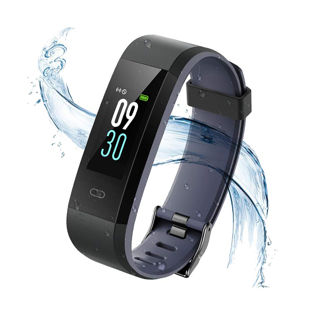 Monitores de Actividad, Vigorun Fitness Tracker Smart Pulsera con Monitor de frecuencia cardíaca Pulsera Inteligente… 1