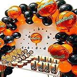 Articles de Basket-Ball de fête pour Le Sport Kit pour thème Sportif garçons Anniversaire...