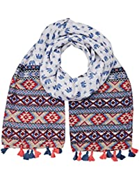 Molly Bracken BC232E17, Foulard Femme, Bleu, Taille Unique (Taille Fabricant: TU)
