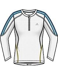 Adidas Damen Response DS langen Ärmeln Half Zip