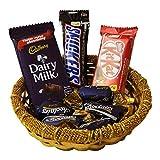 #6: Chocolate Basket For Birthday Anniversary Christmas Valentine Gift 5033