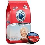 Caffè Borbone Miscela Rossa - 90 capsule (6 confezioni da 15 capsule) - Compatibili Nescafè* Dolce Gusto* Intensità 12/12