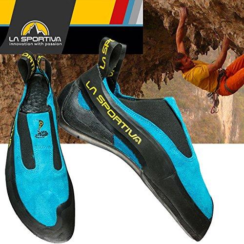 La Sportiva Cobra Climbing Shoes Unisex Blue Größe 43 1/2 2018 Kletterschuhe