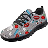 chaqlin Cartoon dentista stampa dentale scarpe da jogging da donna leggere atletica moda camminare scarpe da ginnastica