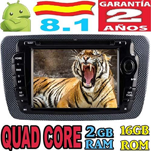 Seat Ibiza Android 8.1 Quad Core 2GB RAM 16GB ROM GPS Radio...
