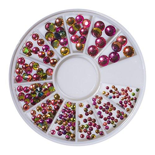 Strass en cristal de tourmaline Violet Violet SS6-41098 SS20 240 pièces