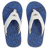 Animal Boys Summer Flip Flops - Blue