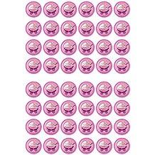 48 su una chica # 3 Baby shower/nacimiento comestibles PREMIUM de grosor edulcorados vainilla