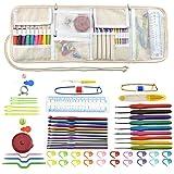 Coil.c 64pcs Kit De Costura, DIY Colored Caja Costura De Accesorios, Varios Tipos De Ganchillo, Lindo Lienzo Kit De Costura para El Viajes Y Principiantes Y Emergencias