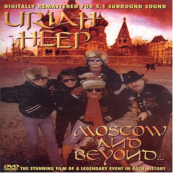 Uriah Heep Moscow And Beyond Dvd Amazon Co Uk Uriah Heep Dvd Blu Ray
