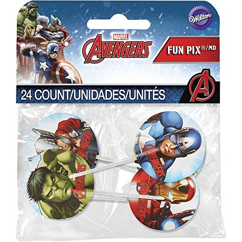 cake-Topper Marvel Avengers Fun Pix, mehrfarbig ()
