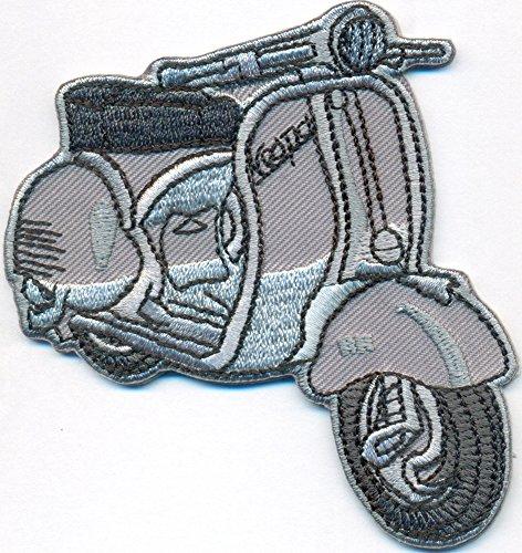 VESPA Roller Vintage Retro Italy Motorrad Piaggio Motorcycle Biker Patch Aufnäher Roller-patch