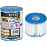 Intex JA29001 Filter Cartridge , Pack of 2 - White