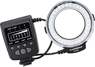 Segolike Ultra Bright LED Macro Ring Flash Light For Canon Pentax Olympus DSLR Camera