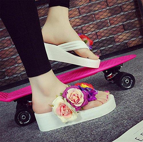 pengweiPantalons de mode femme Et¨¦ Balan?oire Chaussures de plage Chaussures ¨¤ talons 2