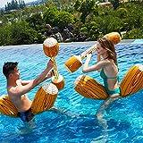 RUXINGGU 2019 últimos Juguetes inflables de Agua niños Adultos Deportes acuáticos Juego Piscina Flotante Fila Juguetes al Aire Libre 4 unids