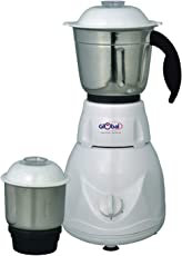 Global Eco Plus Mixer Grinder with 2 Jars White 500 Watts