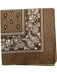 Novelty pañuelos pañuelos de algodón de Paisley Single Pack