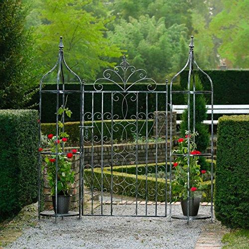Gärtner Pötschke Gartentor Chalet Du Charme mit Oberlisken