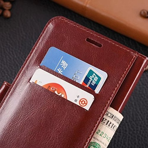 Wkae Case Cover Redmi Note2 Fall feste Folio magnetische Design Flip Brieftasche Stil Fall Farbmuster PU-Leder-Abdeckung Standup-Abdeckungsfall für Redmi Note2 ( Color : White , Size : Redmi Note2 ) Blue