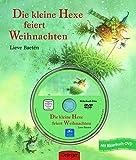 Die kleine Hexe feiert Weihnachten: Bilderbuch mit DVD