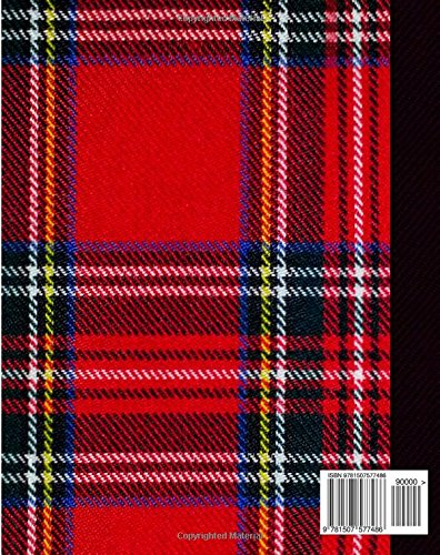 Zoom IMG-1 tartan composition notebook college ruled