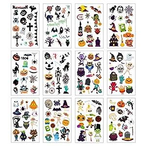 Tatuajes Temporales(12 Hojas)KATOOM Tatuajes de