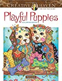 Creative Haven Playful Puppies Coloring Book (working title) (Creative Haven Coloring Books)