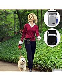 Buyworld Women Pet Dog Snack Bags Waist Belt Bag Pouch Men's Zip Fanny Pack Handy Small Belt Drawstring Bag Bolsos...