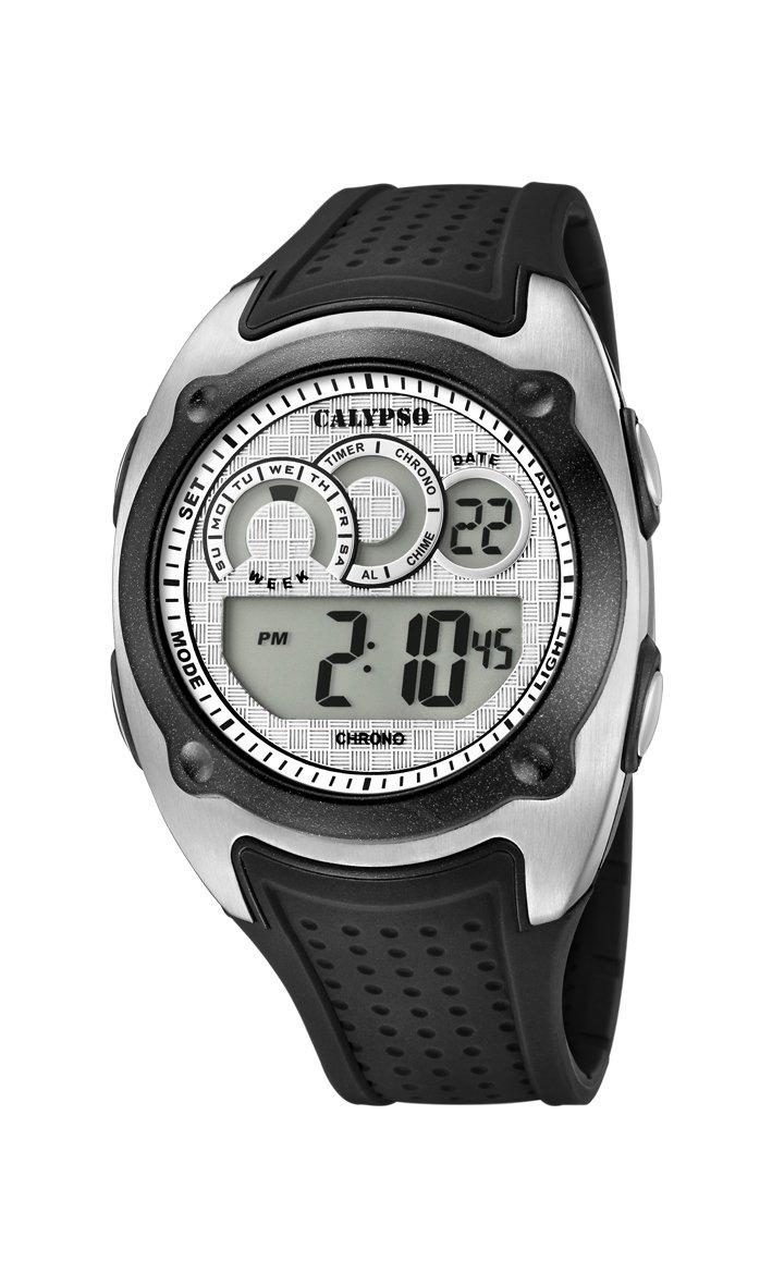 Calypso Reloj Digital para Hombre de Cuarzo con Correa en Plástico K5722/1