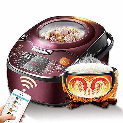 DHG Home Schlaf Mode Reiskocher Reiskocher 4L2-4 Menschen,Rotwein