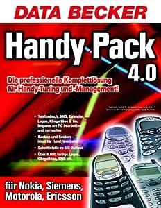 Handy Pack 4.0, 1 CD-ROM Läuft unter Windows 98/98SE/ME/NT4 (SP6)/2000/XP. Für Nokia, Siemens, Motorola, Ericsson