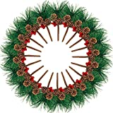 Boao 20 Pezzi Pick di Pino Artificiale Piccolo Albero di Pino Artificiale per Ghirlande di Composizioni Floreali di Natale e Decorazioni Natalizie