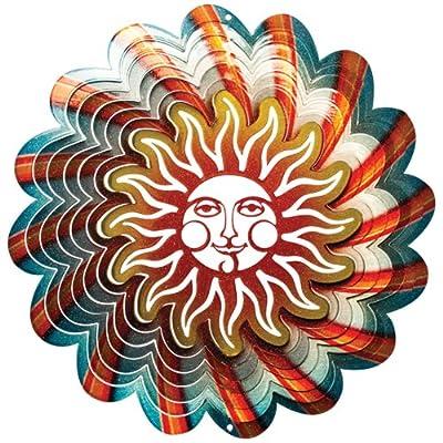 Iron Stop Windspinner Designer Windspinner, blaue Sonne, 25 cm von Woodstream - Du und dein Garten