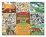 #5: Melissa & Doug Reusable Sticker Activity Pad - Jungle & Savanna Toy