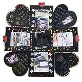 Livre Photo Accessoires, 45PC Planning et Bullet Journal DIY Ensemble d'accessoires pour DIY Scrapbooking Album photo, Agenda, journal Personnel et bien plus encore DIY Photo Album Box