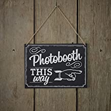 Vintage Affair - Chalkboard Wooden Sign - Photo Booth Sign