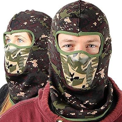 Calli Camouflage Unisex Sturmhauben warme Winter Cheek Neck CS Hut Ski Jagd Hut Hood