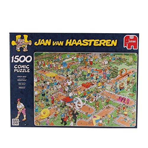 Preisvergleich Produktbild Jumbo 17216 - Jan van Haasteren - Minigolf, 1500 Teile