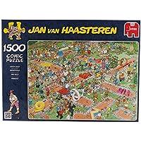 Jan van Haasteren -  Crazy Golf Jigsaw Puzzle (1500 Pieces)