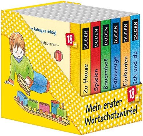 Duden: Mein erster Wortschatzwürfel: ab 18 Monaten (DUDEN Pappbilderbücher 18+ Monate) - Erfassen Reise-tasche