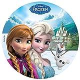 Tortenaufleger Frozen 01