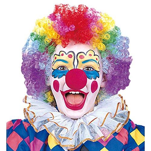 Kinder Clown Perücke Bunte Clownperücke bunt Clowns Perücke Clownsperücke Bunte Faschingsperücke Kinderperücke